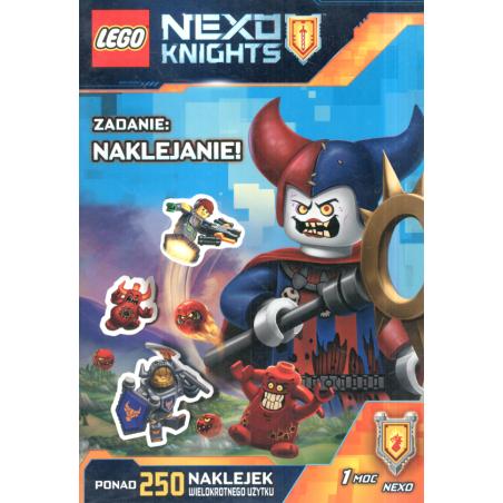 LEGO NEXO KNIGHTS ZADANIE NAKLEJANIE