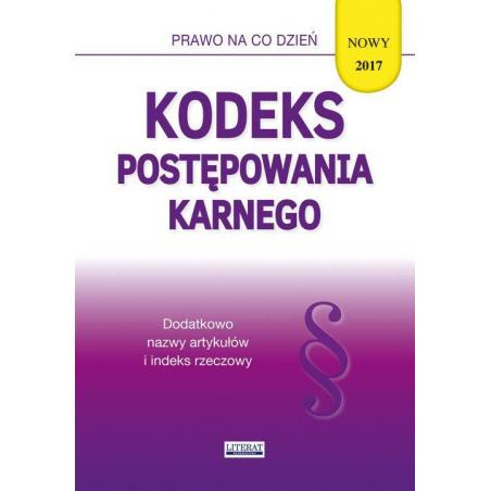 KODEKS POSTĘPOWANIA KARNEGO Magdalena Kietschke