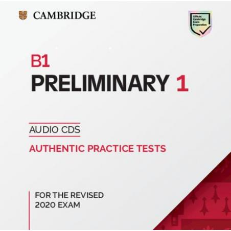 B1 PRELIMINARY 1 AUTHENTIC PRACTICE TESTS AUDIO CDS