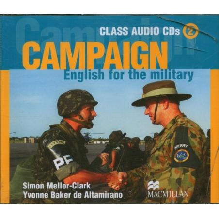 CAMPAIGN ENGLISH FOR THE MILITARY CLASS AUDIO CD 2