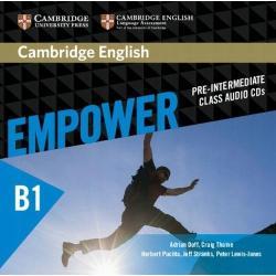 CAMBRIDGE ENGLISH EMPOWER PRE INTERMEDIATE CLASS AUDIO 3 CD