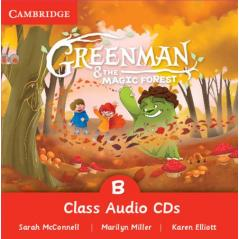 GREENMAN & THE MAGIC FOREST CLASS AUDIO CD