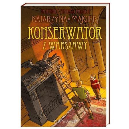 KONSERWATOR Z WARSZAWY 7+ Katarzyna Majgier