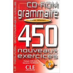 CD-ROM GRAMMAIRE 450 NOUVEAUX EXERCISES
