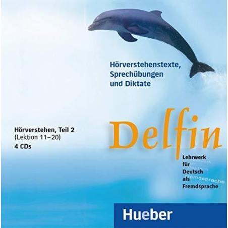 DELFIN HORVERSTEHEN TEIL 2 LEKTION 11-20 4 CD