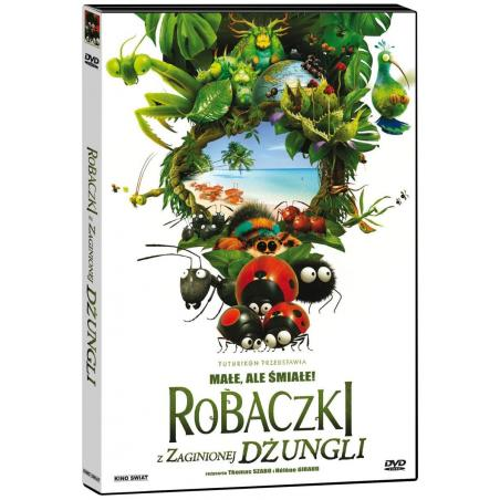 ROBACZKI Z ZAGINIONEJ DŻUNGLI DVD PL