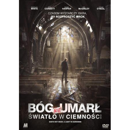 BÓG NIE UMARŁ ŚWIATŁO W CIEMNOŚCI KSIĄŻKA + DVD PL