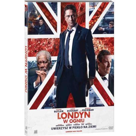 LONDYN W OGNIU KSIĄŻKA + DVD PL
