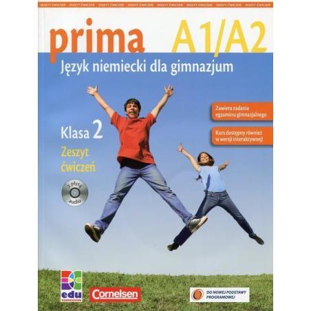 PRIMA 2 ZESZYT ĆWICZEŃ Z PŁYTĄ CD Jin Friederike
