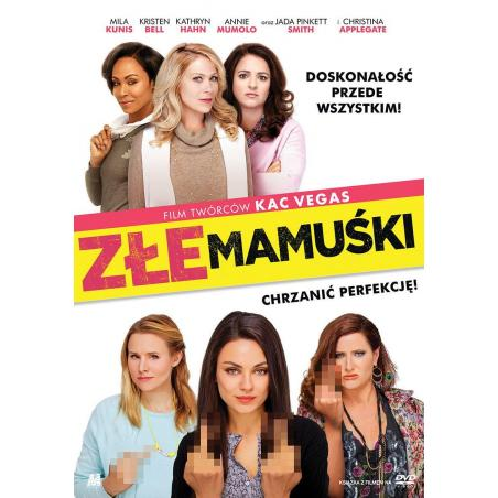 ZŁE MAMUŚKI KSIĄŻKA + DVD PL
