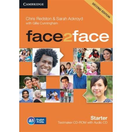 FACE2FACE STARTER TESTMAKER CD-ROM + AUDIO CD Chris Redston, Sarah Ackroyd