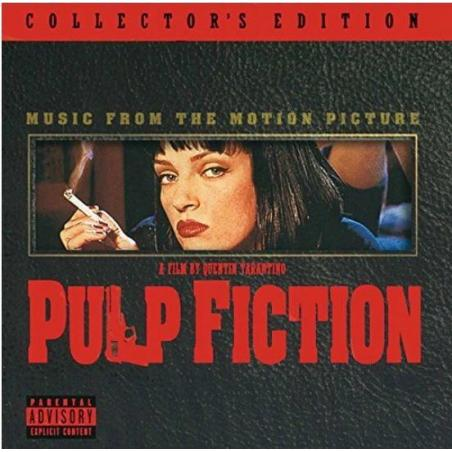 PULP FICTION MUSIC FROM THE MOTION CD