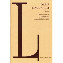 ORBIS LINGUARUM VOL.44 Edward Białek, Krzysztof Huszcza, Katarzyna Nowakowska