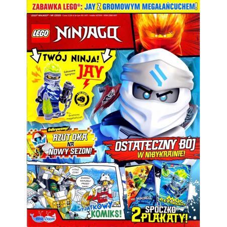 LEGO NINJAGO KOMIKS + MINIFIGURKA + KARTY