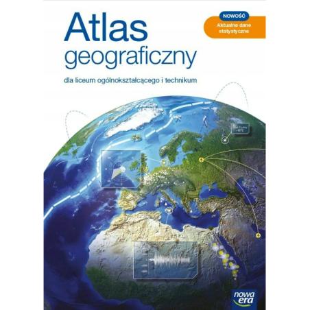 ATLAS GEOGRAFICZNY DLA LO I TECHNIKUM