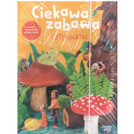 CIEKAWA ZABAWA CZTEROLATKI BOX