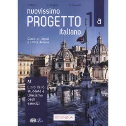 NUOVISSIMO PROGETTO ITALIANO 1A CORSO DI LINGUA E CIVILTA ITALIANA + CD T. Marin