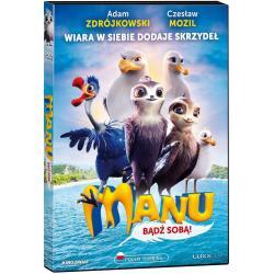 MANU BĄDŹ SOBĄ! DVD PL