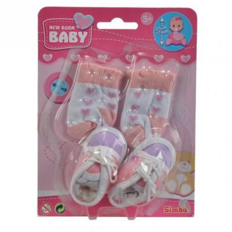 NEW BABY BORN BUCIKI I SKARPETKI 3+