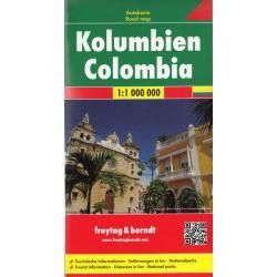 KOLUMBIA MAPA 1:1 000 000
