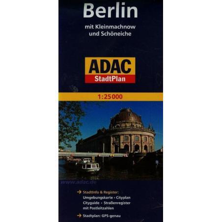 BERLIN 1 : 25 000 PLAN MIASTA