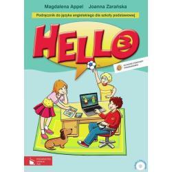 HELLO! 3 PODRĘCZNIK SZKOŁA PODSTAWOWA Magdalena Appel, Joanna Zarańska