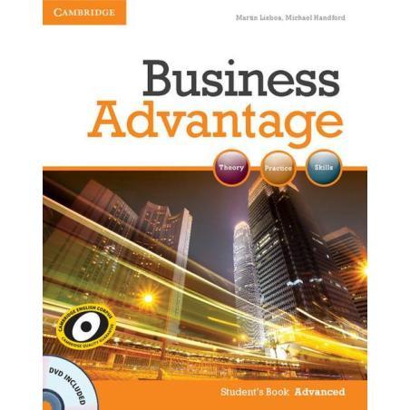 BUSINESS ADVANTAGE PODRĘCZNIK + DVD Martin Lisboa, Michael Handford