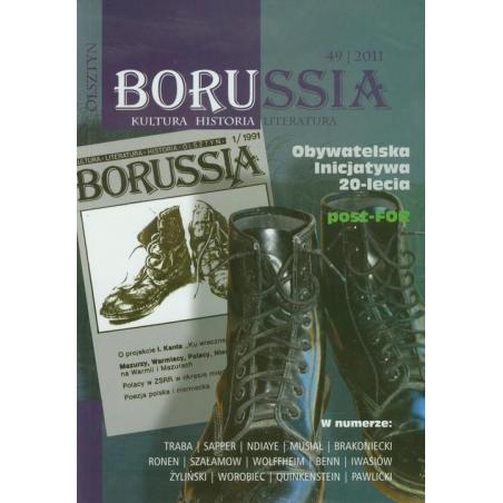 BORUSSIA 49/2011 KULTURA HISTORIA LITERATURA