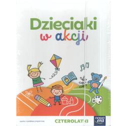 DZIECIAKI W AKCJI CZTEROLATKI BOX Anna Stalmach-Tkacz, Karina Mucha