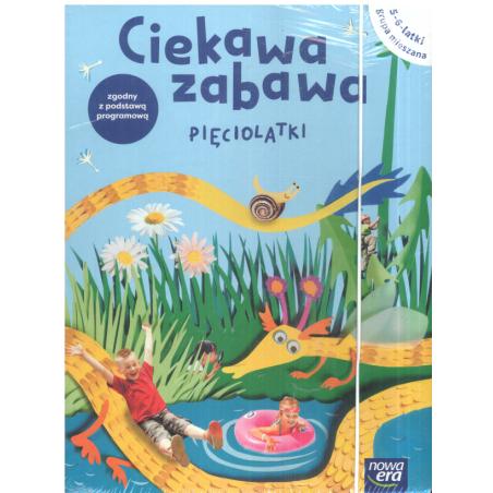 CIEKAWA ZABAWA PIĘCIOLATKI 5-6-LATKI GRUPA MIESZANA BOX