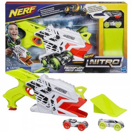 WYRZUTNIA NERF NITRO AEROFURY RAMP RAGE 5+