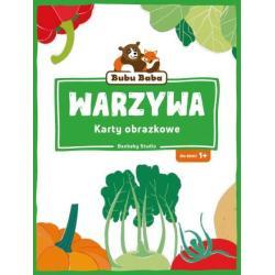 BUBU BABA WARZYWA KARTY MALUCHA 1+