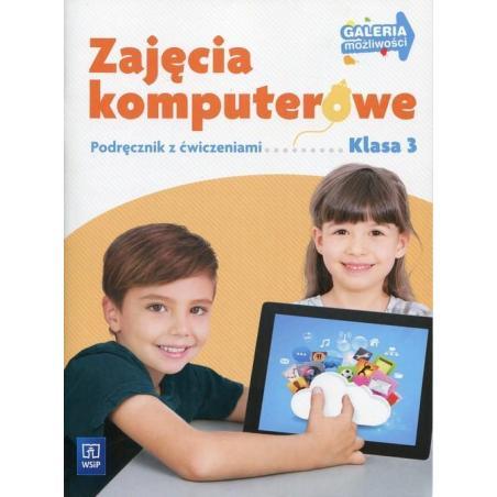 GALERIA MOŻLIWOŚCI ZAJĘCIA KOMPUTEROWE 3 PODRĘCZNIK Z ĆWICZENIAMI + CD Anna Kulesza