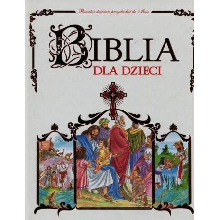 BIBLIA DLA DZIECI Jan Krzyżanowski