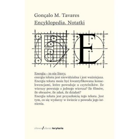 ENCYKLOPEDIA NOTATKI Gonçalo Tavares