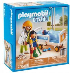 GABINET LEKARSKI PLAYMOBIL 70587 4+
