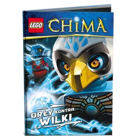 LEGO LEGENDS OF CHIMA ORŁY KONTRA WILKI 7+