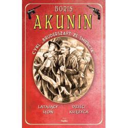 LATAJĄCY SŁOŃ DZIECI KSIĘŻYCA Boris Akunin