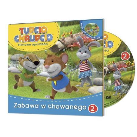 TUPCIO CHRUPCIO ZABAWA W CHOWANEGO + DVD