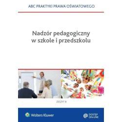 NADZÓR PEDAGOGICZNY W SZKOLE I PRZEDSZKOLU Lidia Marciniak