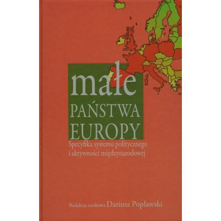 MAŁE PAŃSTWA EUROPY Dariusz Popławski