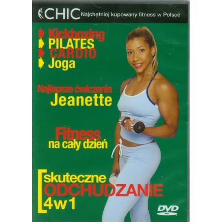 SKUTECZNE ODCHUDZANIE  4W1 DVD