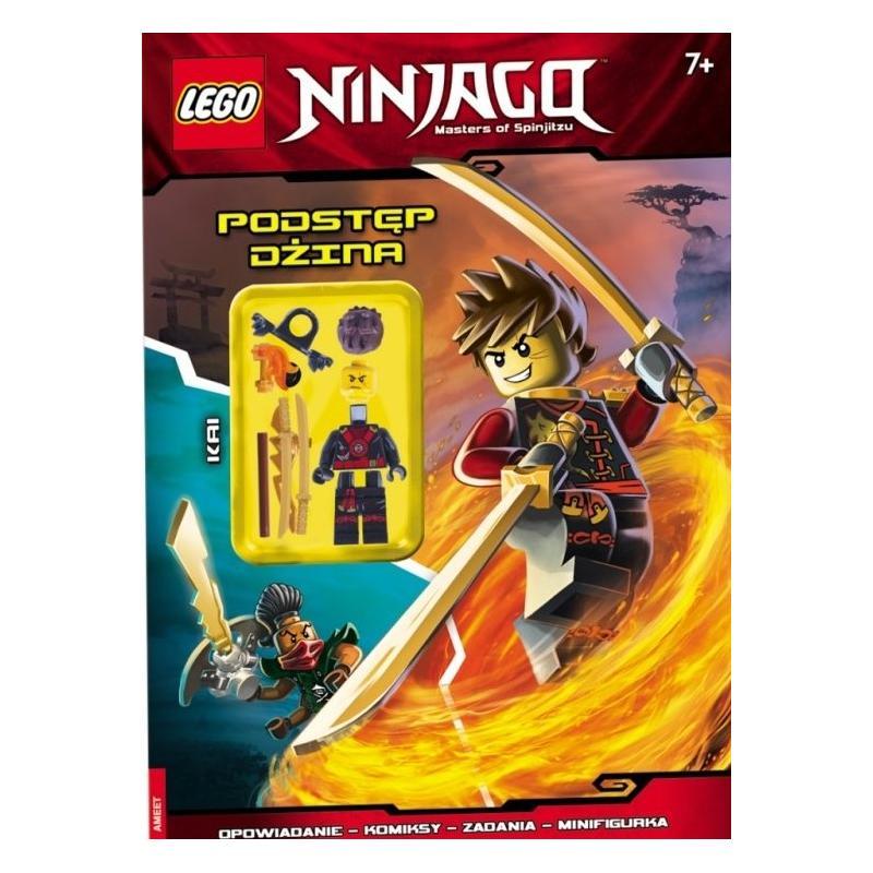 LEGO NINJAGO PODSTĘP DŻINA + FIGURKA 7+