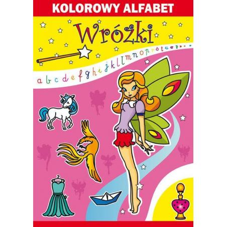 KOLOROWY ALFABET WRÓŻKI Beata Guzowska, Kamila Pawlicka