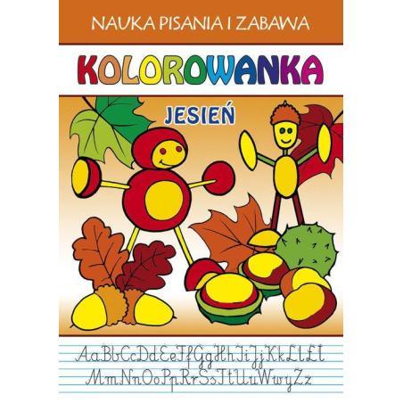 KOLOROWANKA JESIEŃ NAUKA PISANIA I ZABAWA Przemysław Gul, Beata Guzowska