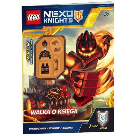 LEGO NEXO KNIGHTS WALKA O KSIĘGI! + FIGURKA LNC-802