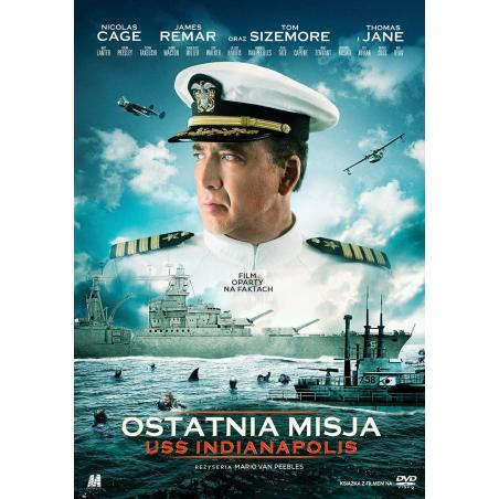 OSTATNIA MISJA USS INDIANAPOLIS KSIĄŻKA + DVD PL