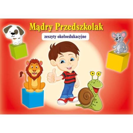 MĄDRY PRZEDSZKOLAK CZERWONA Małgorzata Szewczyk