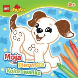 LEGO DUPLO MOJA PIERWSZA KOLOROWANKA LDC 1