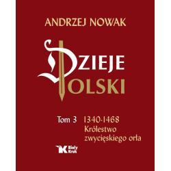 DZIEJE POLSKI 1340-1468 KRÓLESTWO ZWYCIĘSKIEGO ORŁA Andrzej Nowak